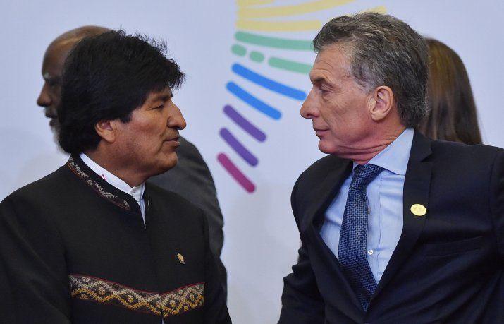 Macri recibe a Evo Morales con una agenda que incluye gas, salud y Venezuela