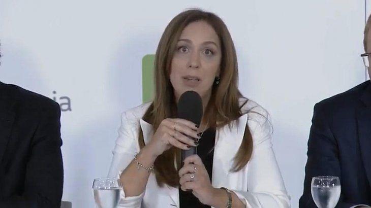 Vidal sobre Cristina: «Ella representa una parte de la demanda electoral, no hay que desconocer eso»