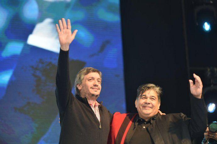 Máximo Kirchner y Mario Ishii.