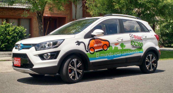 <p>Un modelo chino, el primer 100% eléctrico que llegó al país.</p>
