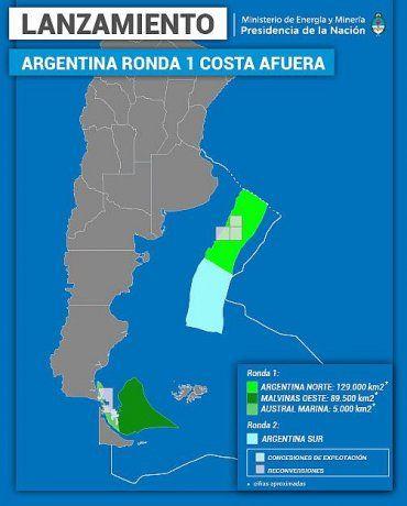 Las áreas offshore que el gobierno de Mauricio Macri licitó ya hora serán revisadas por el gobierno de Alberto Fernández y el nuevo Consejo de asuntos vinculados a las Islas Malvinas.