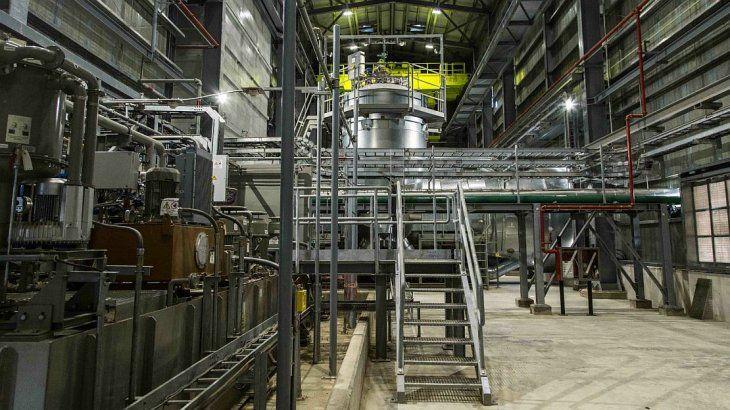 <p>Utiliza gas natural proveniente de yacimientos propios.</p>