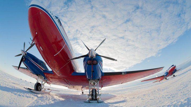 <p>El sitio se eligió luego de una serie de vuelos con radar. </p>