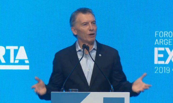 """Macri: """"Tenemos que seguir dando la batalla por el equilibrio de nuestra macroeconomía"""""""