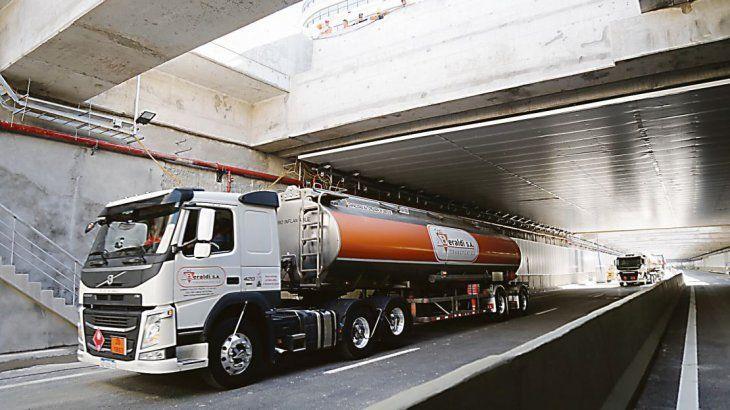 Recorrido. Camiones y micros lograrán reducir el tiempo del trayecto de 45 a 10 minutos.