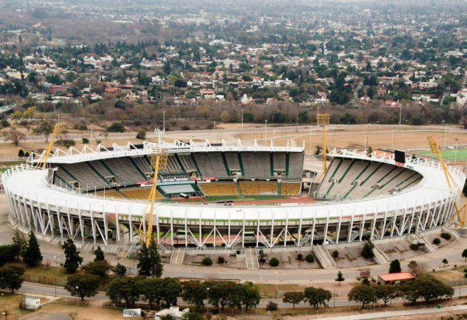 El Estadio Mario Alberto Kempes sede de la Sudamericana 2020
