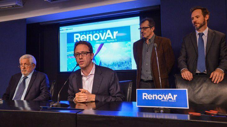 Se recibieron ofertas para 56 nuevos proyectos de Energías Renovables por u$s 520 millones en la Ronda 3 del programa RenovAr.