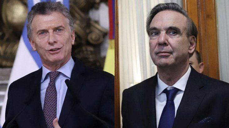El presidente Mauricio Macri anunció que el senador Miguel Angel Pichetto será su candidato a vice para las elecciones.
