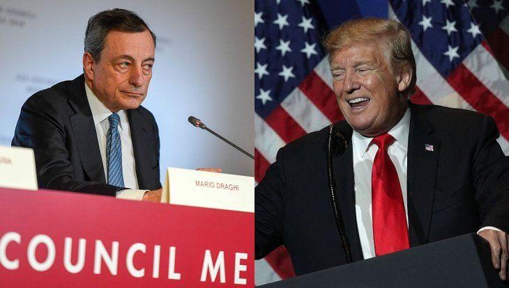 El presidente del BCE