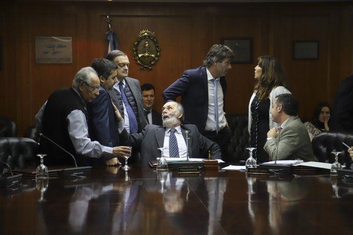 Pablo Tonelli encabezó la reunión de comisión del Consejo de la Magistratura.