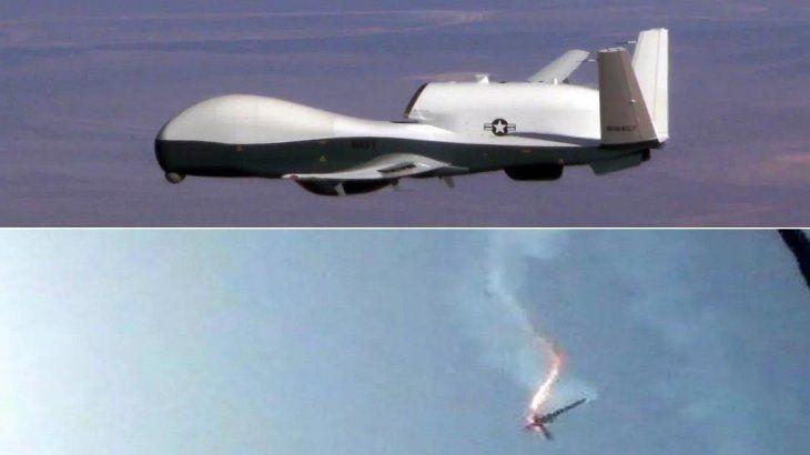 Resultado de imagen para iran dron abatido