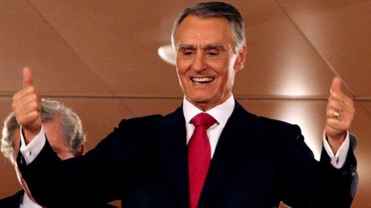 Aníbal Cavaco Silva.