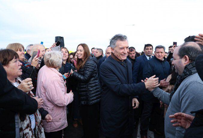 En modo campaña, Macri se mostró junto a Vidal:
