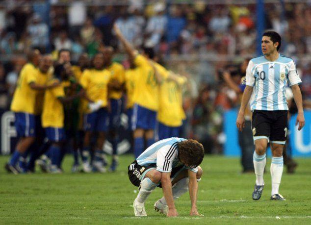 Resultado de imagen para argentina brasil 2007