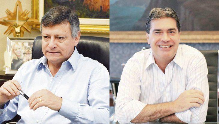 Domingo Peppo yJorge Capitanich.
