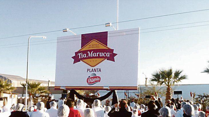 Conflicto. La planta de Tía Maruca en la provincia de San Juan está en ebullición porque los empleados están cobrando el sueldo en cuotas.