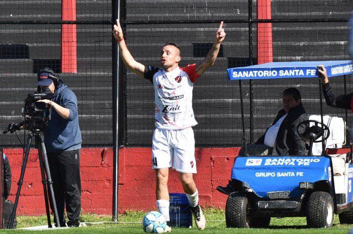 Chimino anotó el gol de los entrerrianos.