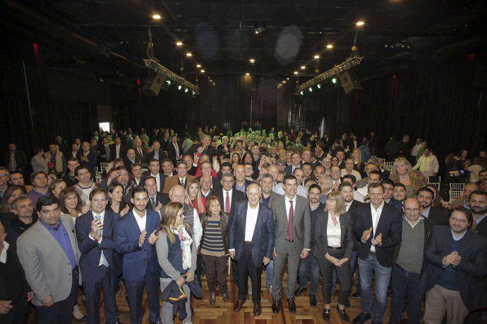 Los precandidatos a presidente y vicepresidente de Consenso Federal, Roberto Lavagna y Juan Manuel Urtubey, tuvieron su cumbre política en julio.