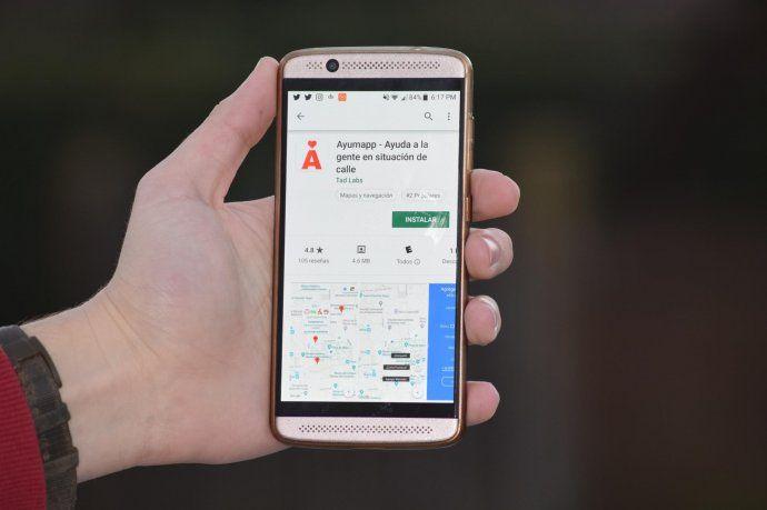 <p>Ayumapp está disponible en todos los dispositivos Android</p>