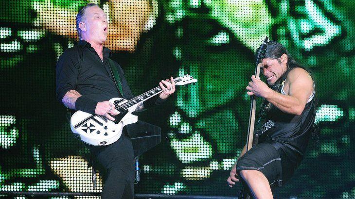 <p>Metallica en Lollapalooza 2017.</p>
