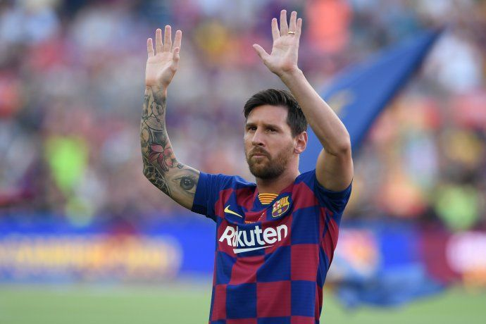 Messi quedó descartado por lesión del debut de Barcelona en la Liga