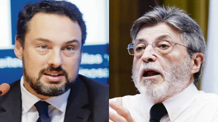 Leandro Cuccioli yAlberto Abad