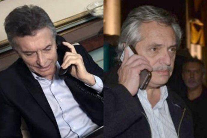 Mauricio Macri y Alberto Fernández hablaron nuevamente por teléfono.