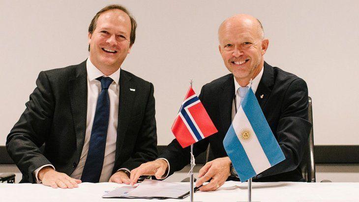 Resultado de imagen para YPF amplía sus acuerdos con una empresa noruega para la exploración offshore