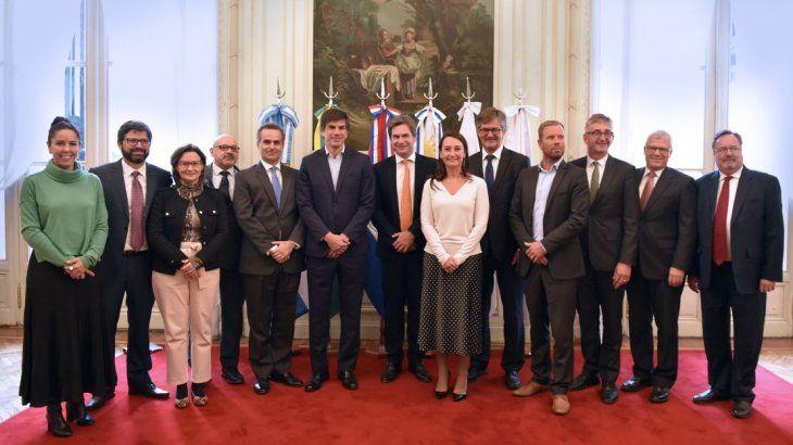 <p>La misión negociadora en acuerdo entre el Mercosur y EFTA.</p>