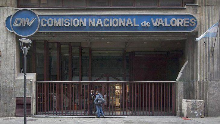 Sede de la Comisión Nacional de Valores (CNV).