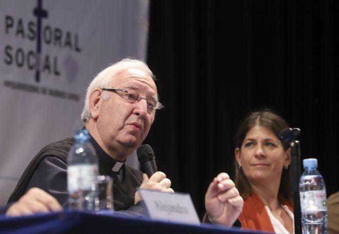 <p>Accaputo y la candidata a senadora por la Ciudad de Buenos aires de Juntos por el Cambio y ministra de desarrollo humano porte&ntilde;a, Guadalupe Tagliaferri.&nbsp;</p>