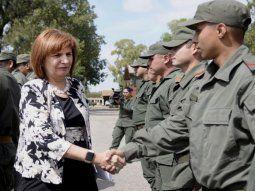 La ministra de Seguridad Patricia Bullrich decidió extender la jurisdicción de Gendarmería en Vaca Muerta.