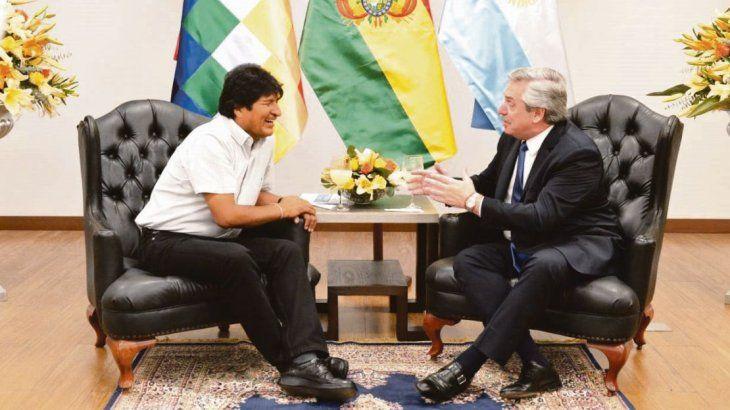 Alberto Fernández visitó a Evo Morales en la campaña electora y días antes del Golpe de Estrado en Bolivia.