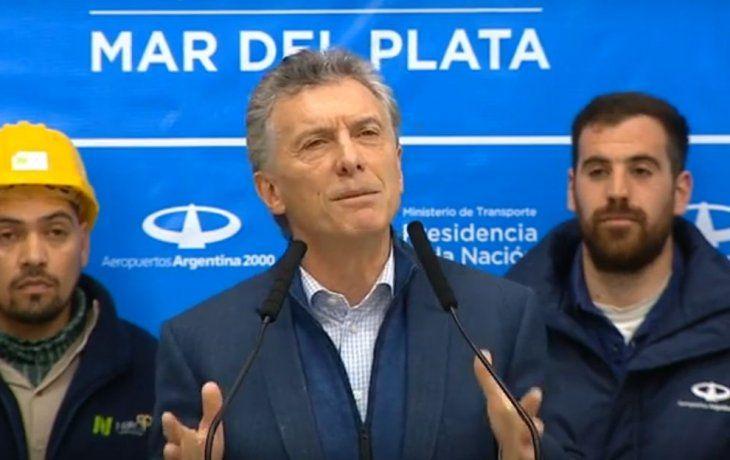 Me gustaría que ningún argentino quede atrás en el camino, afirmó el mandatario.