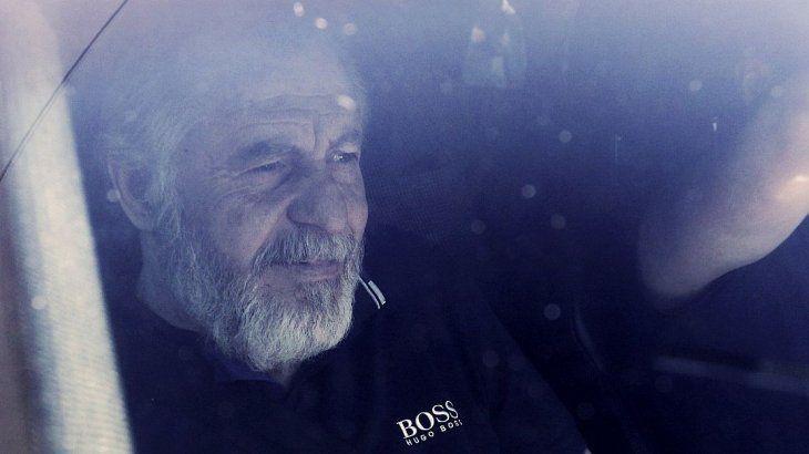 El empresario Cristóbal López tras recuperar su libertad.