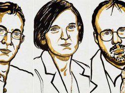El indio Abhijit Banerjee, la francesa Esther Duflo y el estadounidense Michael Kremer fueron los premiados con el Nobel de Economía 2019.