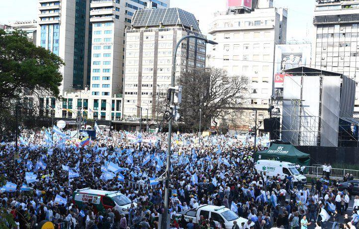 Macri: No aceptamos que quienes destruyeron el país ahora nos digan con el dedo en alto que ellos son los que saben