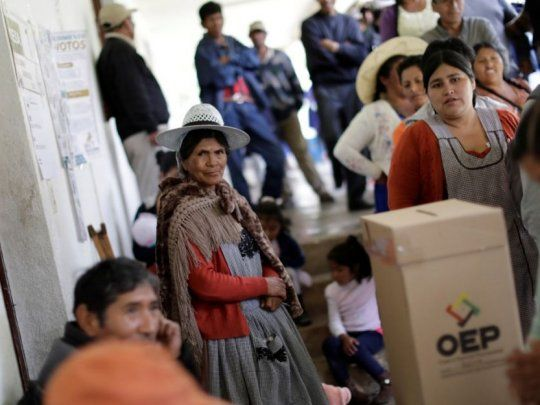 Elecciones en Bolivia: OEA encontró irregularidades en auditoría y ...