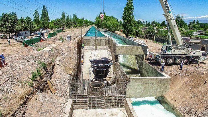 Energía de las Tunas obtuvo la aprobación para su Pequeño Aprovechamiento Hidroeléctrico (PAH) Canal Cacique Guaymallén - Salto 6 de 1