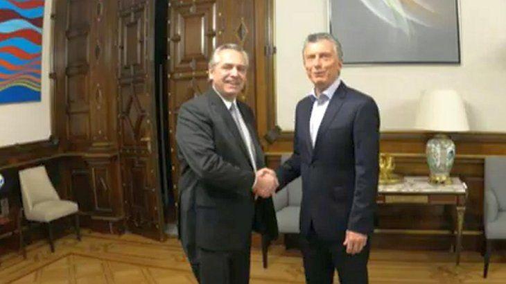 Comenzó la transición: Macri y Alberto Fernández se reunieron en Casa Rosada