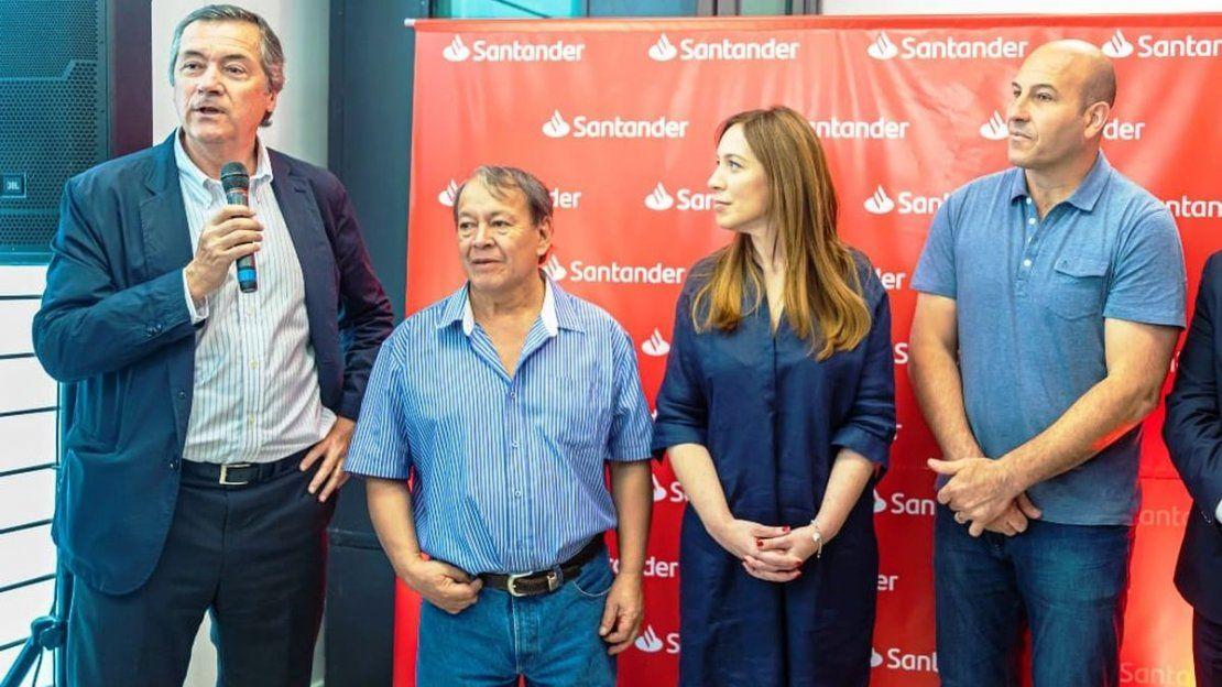 Santander inauguró una Sucursal de Integración Social en Quilmes - ámbito.com