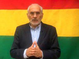 Carlos Mesa, excandidato presidencial en Bolivia.