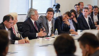 Alberto Fernández comenzó a delinear en noviembre el Consejo Federal Argentina contra el Hambre (Imagen de archivo).