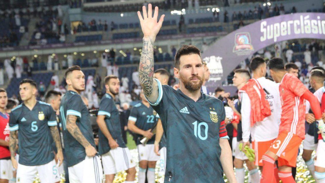 Messi está de vuelta: Siempre es bueno ganarle a Brasil - ámbito.com
