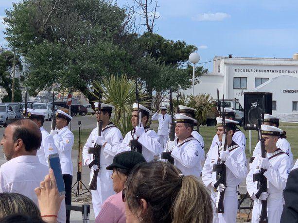El homenaje a los tripulantes del ARA San Juan, a dos años del hundimiento.