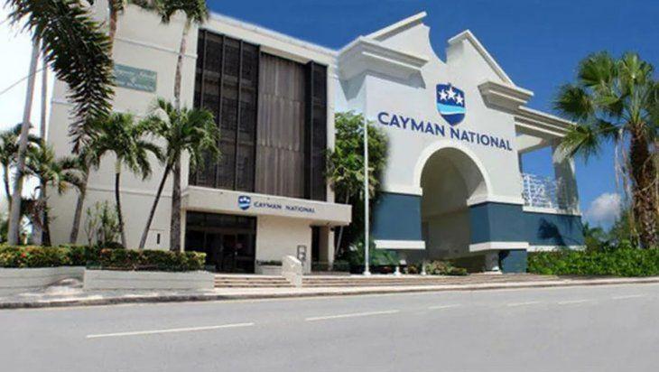 El banco nacional de las Islas Caimán