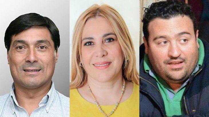 Miguel Ansaloni, Beatriz Ávila y Antonio Carambia.