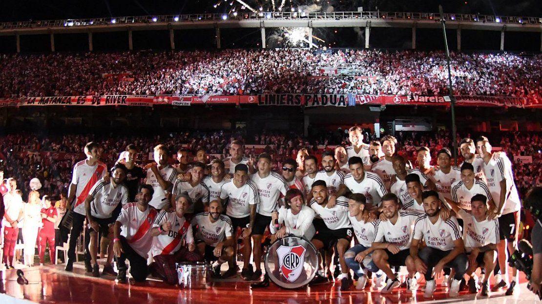 River festejó el primer aniversario de la obtención de la Libertadores ante Boca   River, Boca, Copa Libertadores 2018