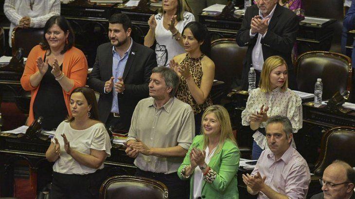 El proyecto de ley oficial obtuvo 134 votos a favor en Diputados.