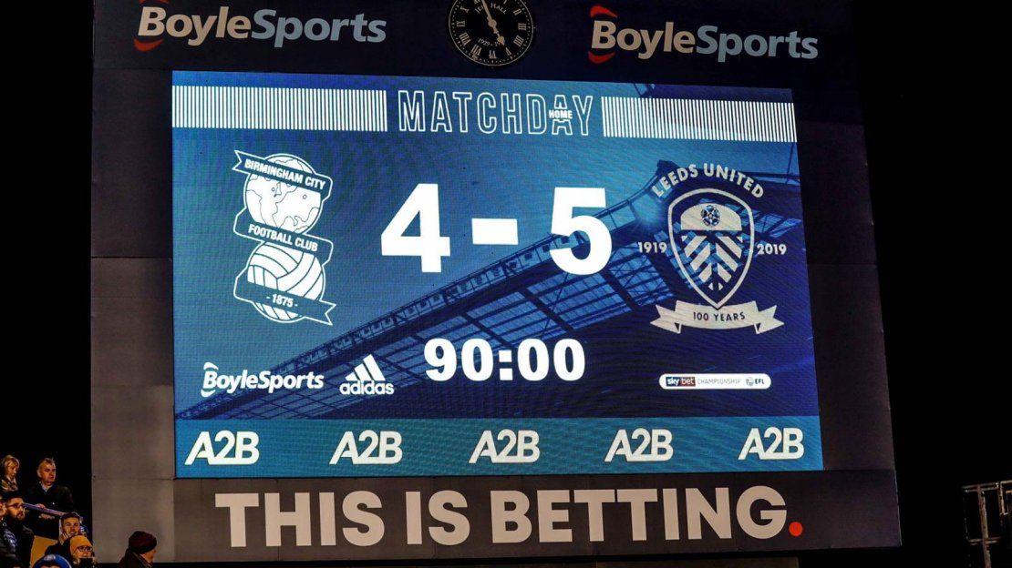 Con un final para el infarto, el Leeds de Bielsa ganó y termina el año puntero   Leeds, Marcelo Bielsa, Championship League
